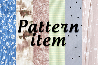 Pattern items